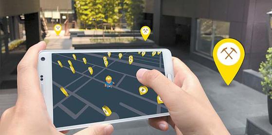 팅스나인이 가상화폐인 애니코인을 획득하고 사용하는 앱을 개발했다. [사진 팅스나인]