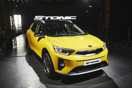기아자동차가 유럽에서 처음 공개한 새 소형 SUV 스토닉 [사진 기아자동차]