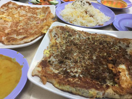 아랍스트리트에서 맛본 무르타파.