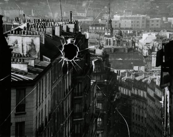 '깨진 원판', 파리, 1929.[사진 성곡미술관]