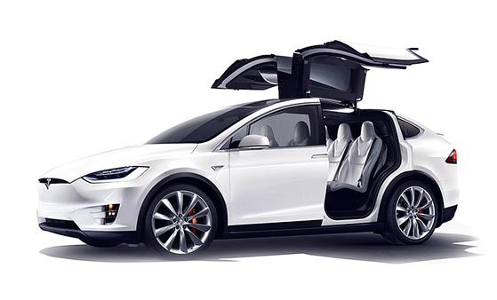 테슬라 모터스의 전기 차량 모델X. [중앙포토]