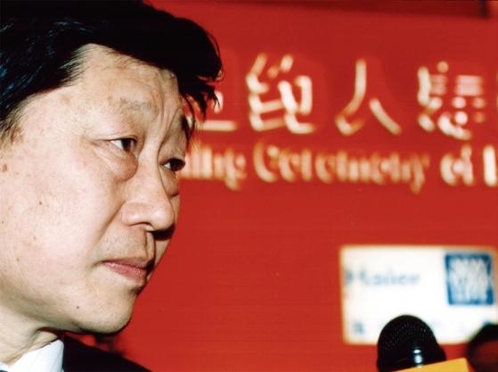 장루이민 회장은 최근 글로벌 시장에서 떠오르는 중국 경제를 상징하는 기업인이다.