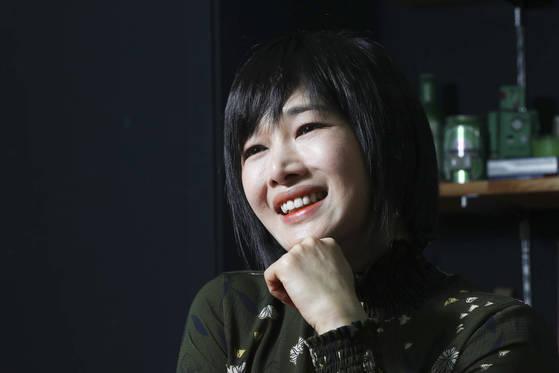 배우 선우선 씨를 지난달 29일 서울 강남구 논현동 코쿤나인 사무실에서 만났다. 김경록 기자
