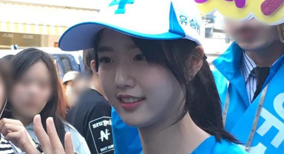 유승민 바른정당 의원의 딸 유담양. [중앙포토]