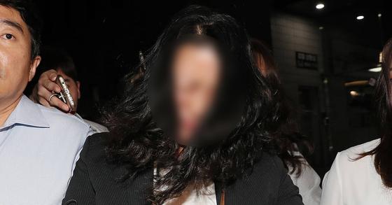지난 대선 당시 '문준용 제보 조작' 의혹을 받고 있는 이유미씨. [연합뉴스]