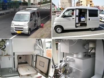 일본의 업체가 운영하는 반려동물 화장시설을 갖춘 트럭. [사진pet594car 홈페이지]