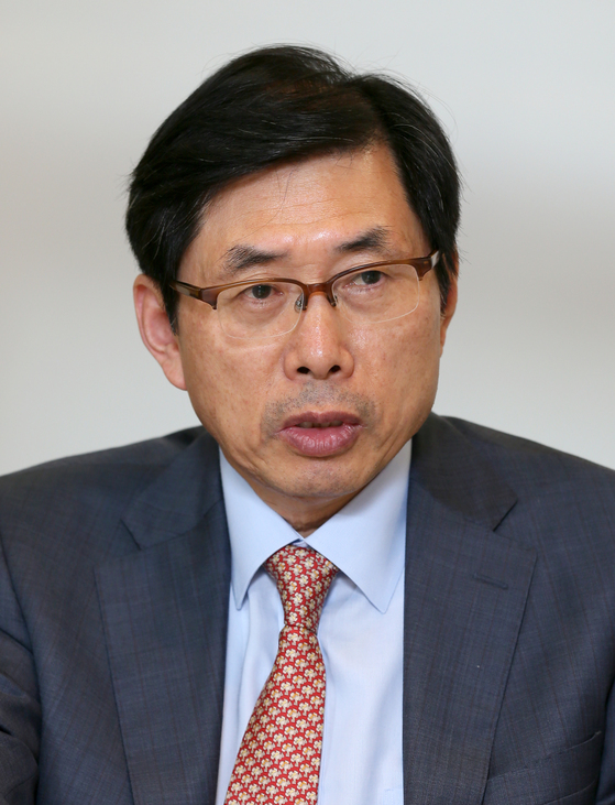 새 법무부 장관 후보자로 지명된 박상기 교수. [중앙포토]
