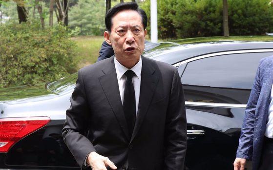 송영무 국방부 장관 후보자 [사진 연합뉴스]