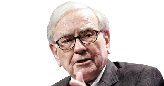 부동산 투자에 나선 워런 버핏(86) 버크셔해서웨이 최고경영자(CEO). [중앙포토]