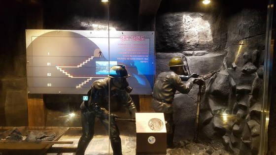 보령 냉풍욕장은 무연탄을 채굴하던 성주산 광산이 묻을 닫은 뒤 찬바람을 이용해 만든 아이디어 상품이다. 신진호기자