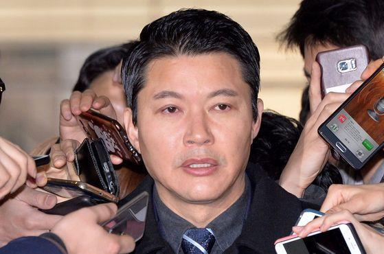 공화당 신동욱 총재. [사진공동취재단]