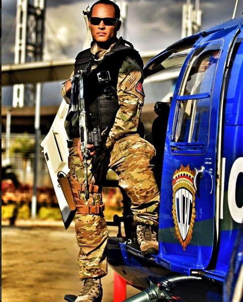베네수엘라 대법원 헬기 탈취 공습 사건의 주인공 오스카르 페레스. [사진=오스카르 페레스 인스타그램]