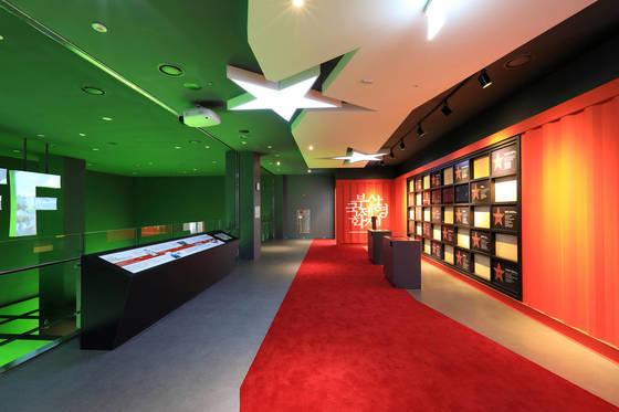 부산영화체험박물관 내 3층에 마련된 영화전시실. [사진 부산영화체험박물관]