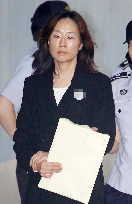 조윤선 전 문체부 장관. [연합뉴스]