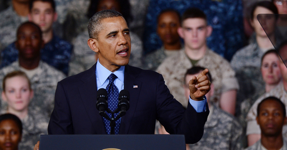 한국 방문 당시 버락 오바마 전 미국 대통령. [중앙포토]