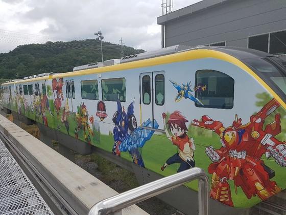 대구도시철도공사의 캐릭터 열차.[사진 대구시]