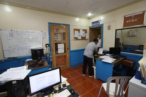 필리핀 앙헬레스 지역에 설치된 코리안데스크 사무실 [중앙포토]