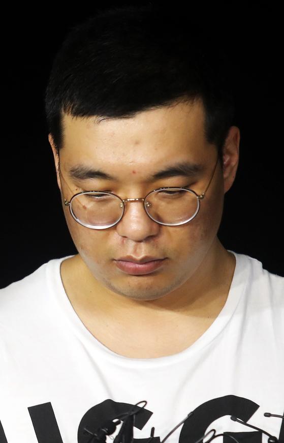 창원 골프연습장 주부 납치·살해 용의자 심천우. [사진 연합뉴스]