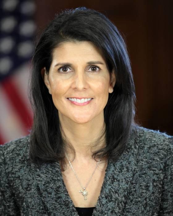 니키 헤일리 유엔주재미국대사