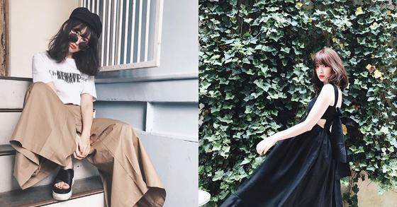 코지마 하루나의 남다른 사복 패션 [사진 인스타그램]