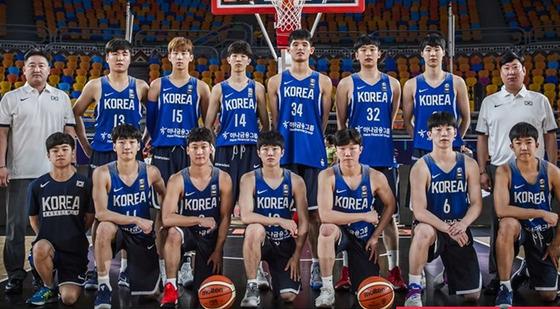 FIBA가 주최하는 U-19 농구월드컵에 출전 중인 한국 농구팀이 지난 7일 경기에서 일본에 64:77로 패배했다. [사진 FIBA 홈페이지]