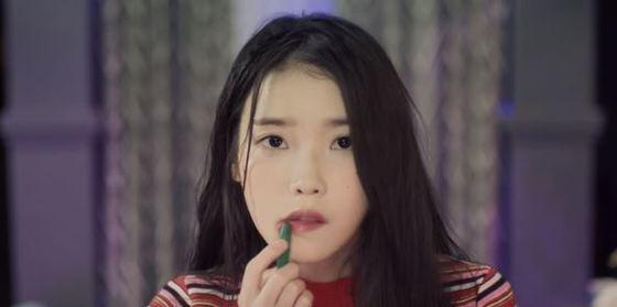 [사진 아이유 '스물 셋' 뮤직비디오 캡처]