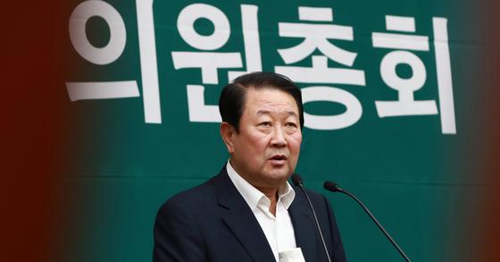 박주선 국민의당 비상대책위원장. [연합뉴스]