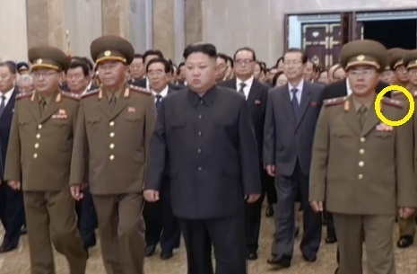대륙간탄도미사일(ICBM)급 화성-14형 미사일 개발 책임자인 장창하 국방과학원장이 최근 중장에서 상장으로 진급했다. [중앙포토]