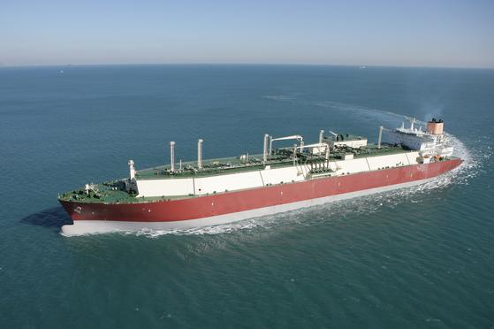 대우조선해양이 건조한 LNG 선박. [대우조선해양 제공=연합뉴스]