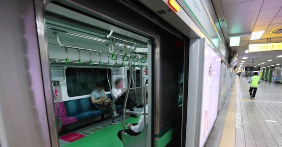지하철 2호선 자료사진. [연합뉴스]