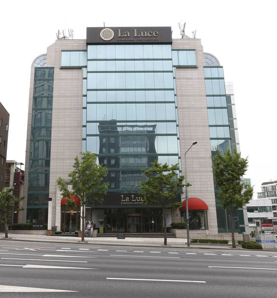 서울 강남구 논현동에 있는 강남 라루체 웨딩홀. 경영난을 이기지 못하고 최근 폐업했다. 임현동 기자