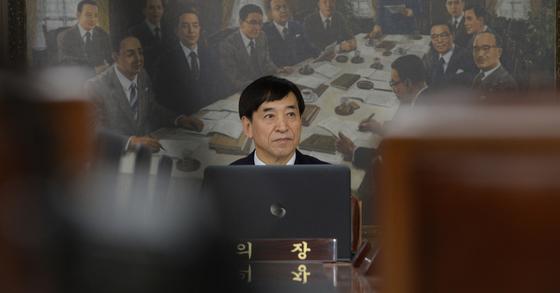 이주열 한국은행 총재. 김동훈기자
