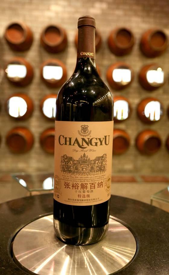 중국을 대표하는 와인 장위 제바이나
