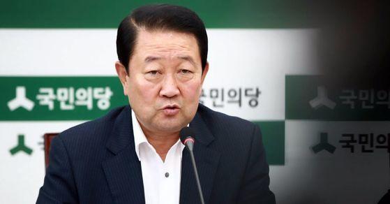 국민의당 박주선 비상대책위원장. [사진 연합뉴스]