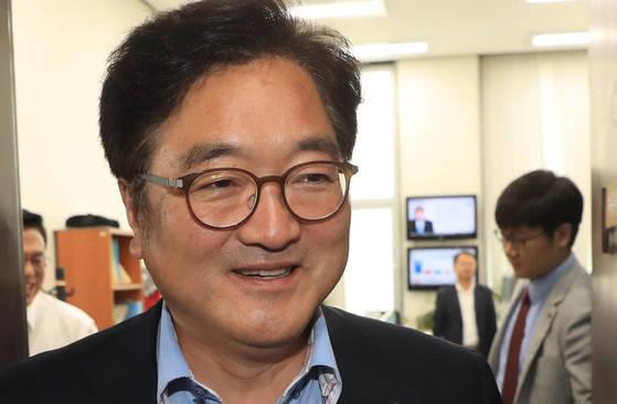우원식더불어민주당원내대표. [연합뉴스]