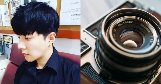 그룹 스피드의 멤버였던 김정우가 카메라 사기를 당했다.[사진 김정우 인스타그램]