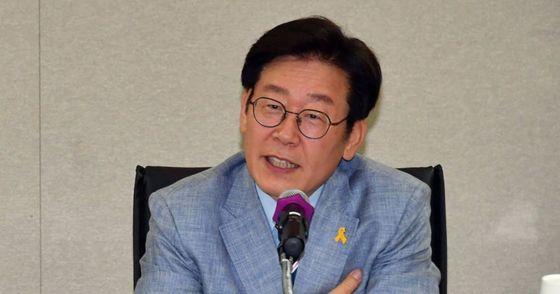 이재명 성남시장. [사진 연합뉴스]