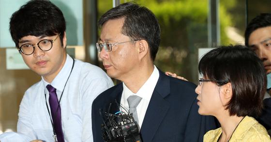 우병우 전 청와대 민정수석. 장진영 기자