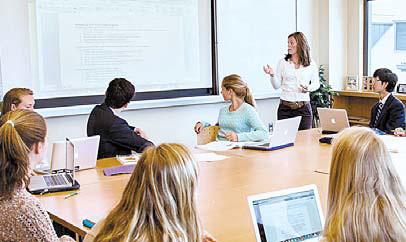 미국 사립학교 수업 모습. [사진 한진유학]