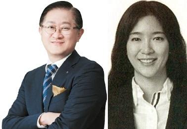 서경배 아모레퍼시픽 회장과 장녀 민정씨. [사진 아모레퍼시픽 제공]
