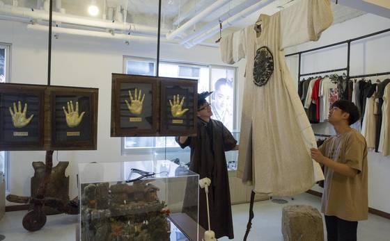 영화 '역린'에서 현빈이 입었던 왕의 옷.프리랜서 오종찬