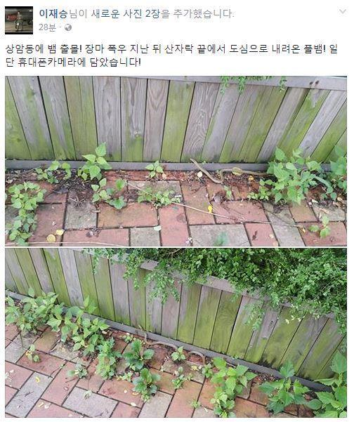 [사진 JTBC 이재승 기자 페이스북]