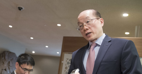 류제이 유엔주재 중국 대사. [AP=연합뉴스]