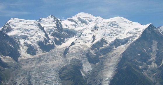 30대 한국인 남성이 프랑스 몽블랑(MontBlanc)산 등반 중 실종돼 현지 구조대가 수색 작업을 진행하고 있다. [사진 Wikipedia]