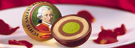 오스트리아 여행에서 가장 많이 사오는 모차르트 초콜릿. [중앙포토]