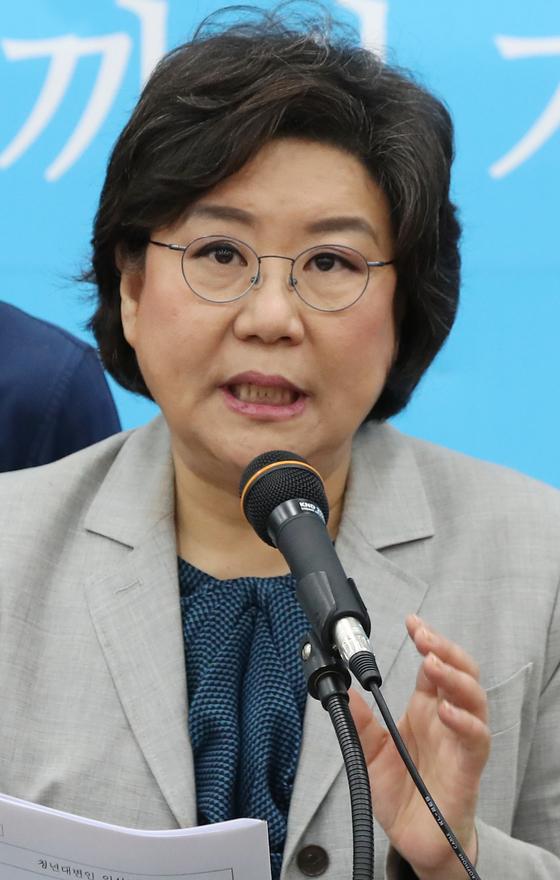 바른정당 이혜훈 대표. [연합뉴스]