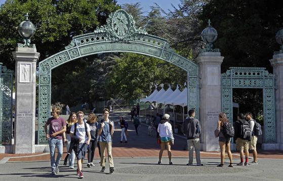 미국 버클리 대학교 전경. [AP=연합뉴스]