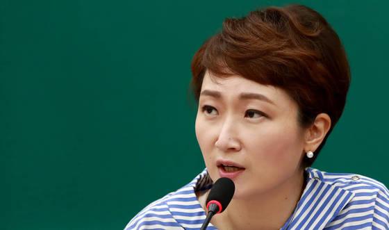 이언주 국민의당 원내수석부대표. [사진 연합뉴스]