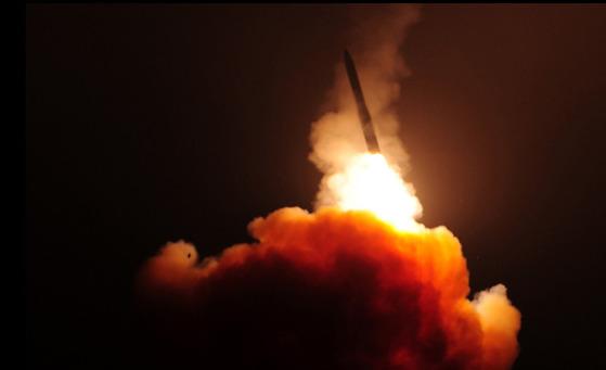 지난 2016년 2월 20일 미 반덴버그 기지에서 발사된 '미니트맨Ⅲ' [사진 미국 보잉사((Boeing)]