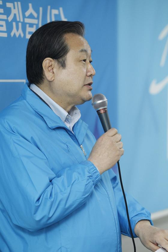 김무성 바른정당 의원. 대구=프리랜서 공정식